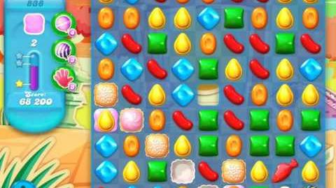 Candy Crush Soda Saga Level 838 (2nd buffed, 3 Stars)