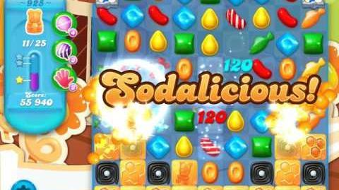 Candy Crush Soda Saga Level 925 (5th version, 3 Stars)