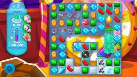 Candy Crush Soda Saga Level 533 (3rd version, 3 Stars)