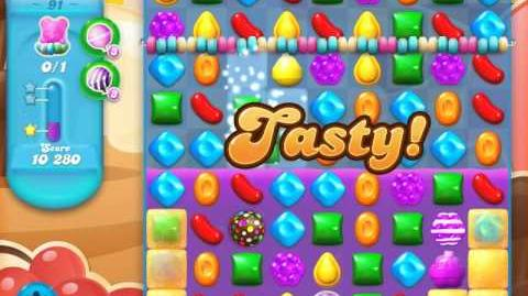 Candy Crush Soda Saga Level 91 (3rd version, 3 Stars)