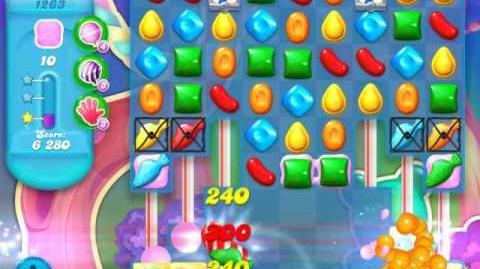 Candy Crush Soda Saga Level 1263 (nerfed, 3 Stars)
