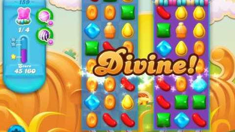 Candy Crush Soda Saga Level 159 (4th version, 3 Stars)