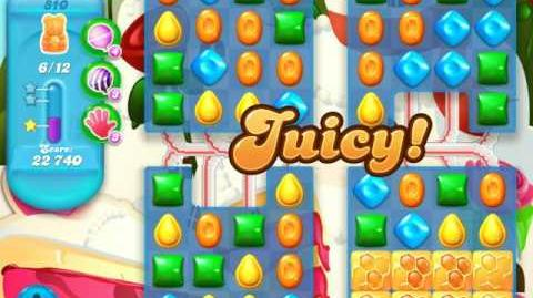 Candy Crush Soda Saga Level 810 (5th version, 3 Stars)