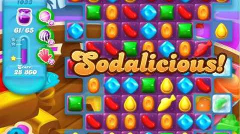 Candy Crush Soda Saga Level 1033 (6th version, 3 Stars)