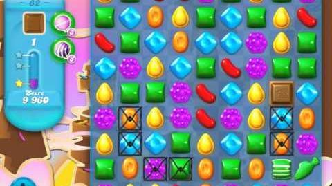 Candy Crush Soda Saga Level 62 (2nd version, 3 Stars)