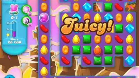 Candy Crush Soda Saga Level 72