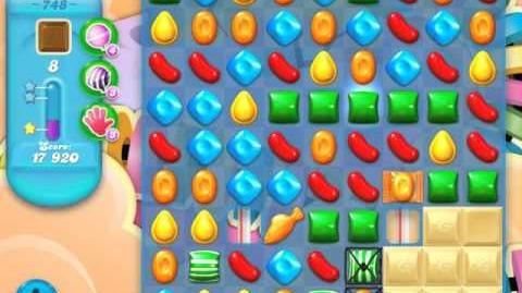 Candy Crush Soda Saga Level 748 (3 Stars)