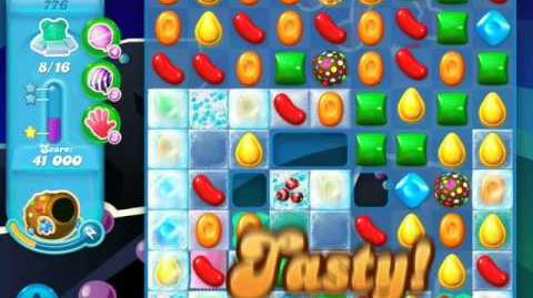 Candy Crush Soda Saga Level 776 (buffed, 3 Stars)