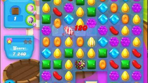Candy Crush Soda Saga Level 126 (3rd version, 3 Stars)