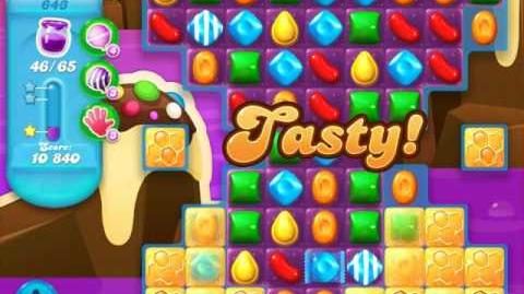 Candy Crush Soda Saga Level 643 (nerfed)