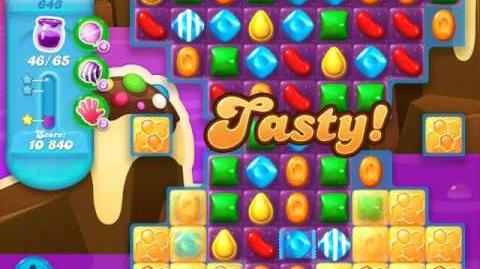 Candy Crush Soda Saga Level 643 (nerfed)