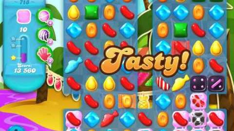 Candy Crush Soda Saga Level 718 (3 Stars)