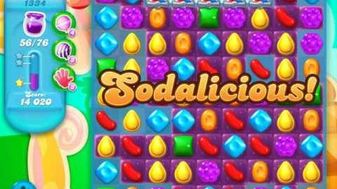 Candy Crush Soda Saga Level 1334 (nerfed)