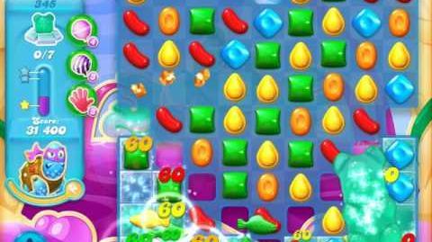 Candy Crush Soda Saga Level 345 (6th version, 3 Stars) (7 bears)