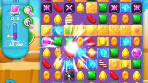 Candy Crush Soda Saga Level 401 (3 Stars)