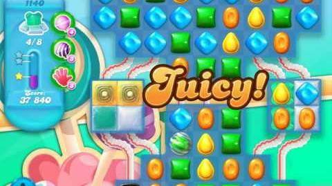 Candy Crush Soda Saga Level 1140 (2nd nerfed)