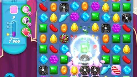 Candy Crush Soda Saga Level 418 (nerfed, 3 Stars)