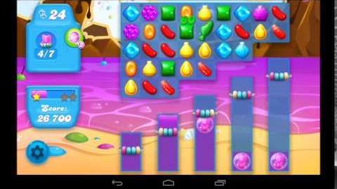 Candy Crush Soda Saga Level 45 - 3 Star Walkthrough