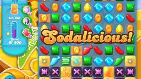 Candy Crush Soda Saga Level 510 (5th version)