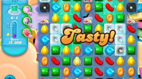 Candy Crush Soda Saga Level 747 (buffed, 3 Stars)