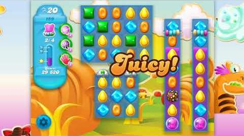 Candy Crush Soda Saga - Level 159 - No boosters