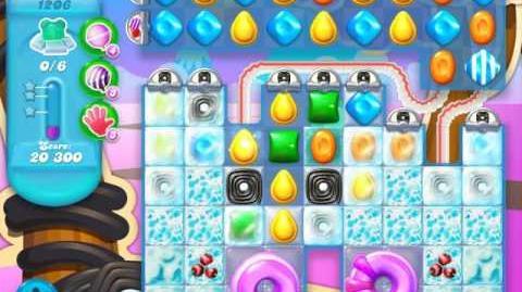 Candy Crush Soda Saga Level 1206 (buffed, 3 Stars)