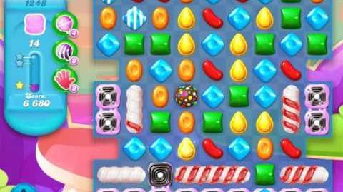 Candy Crush Soda Saga Level 1248 (nerfed, 3 Stars)