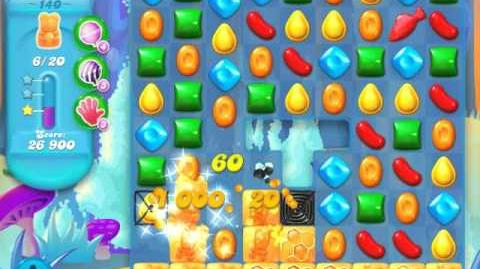 Candy Crush Soda Saga Level 140 (6th version, 3 Stars)