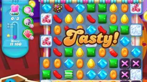 Candy Crush Soda Saga Level 545 (5th version, 3 Stars)