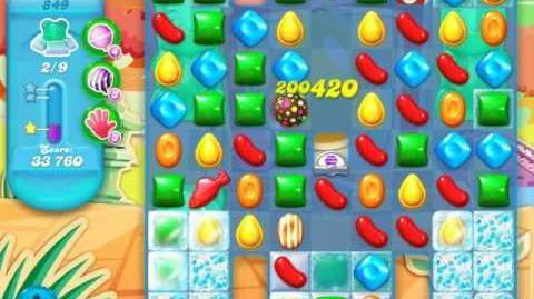 Candy Crush Soda Saga Level 849 (2nd buffed)