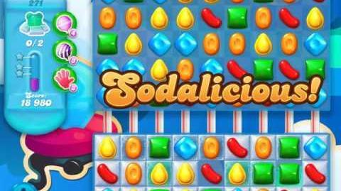 Candy Crush Soda Saga Level 271 (2nd version, 3 Stars)
