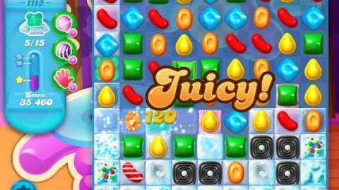 Candy Crush Soda Saga Level 1112 (buffed, 3 Stars)