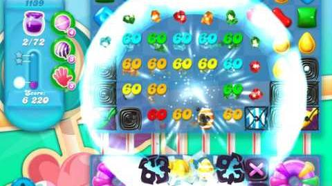 Candy Crush Soda Saga Level 1139 (6th version)