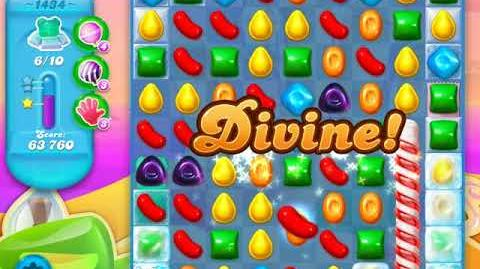 Candy Crush Soda Saga Level 1434 (7th version, 3 Stars)