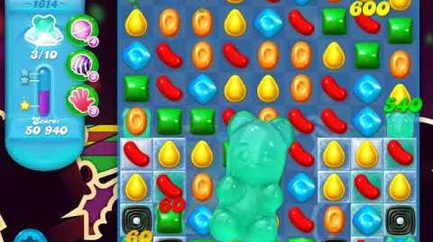 Candy Crush Soda Saga Level 1614 (buffed, 3 Stars)