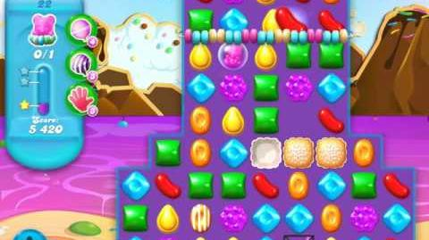 Candy Crush Soda Saga Level 22 (3rd version, 3 Stars)