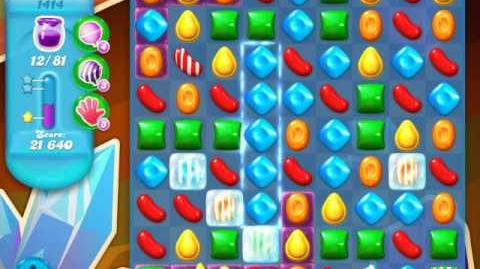 Candy Crush Soda Saga Level 1414 (4th version, 3 Stars)