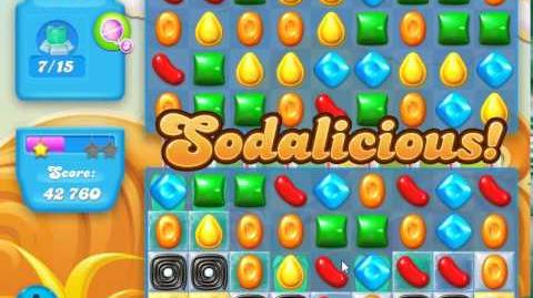 Candy Crush Soda Saga Level 160 (3rd version, 3 Stars)