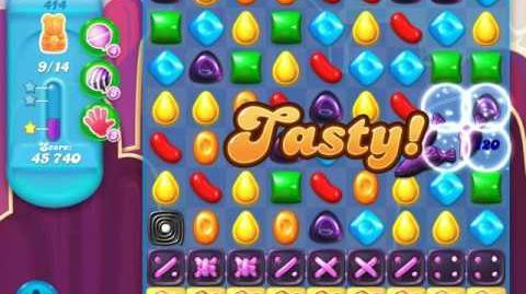 Candy Crush Soda Saga Level 414 (buffed)