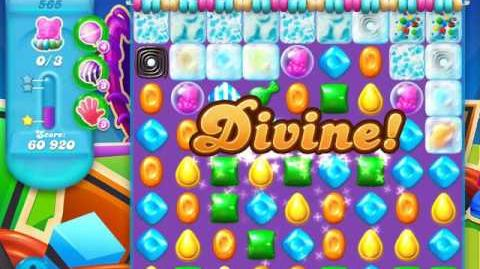 Candy Crush Soda Saga Level 565 (6th version, 3 Stars)