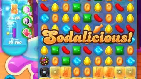 Candy Crush Soda Saga Level 1118 (4th version, 3 Stars)