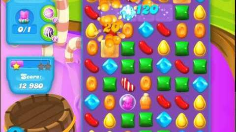 Candy Crush Soda Saga Level 134 (40 moves, 3 Stars)