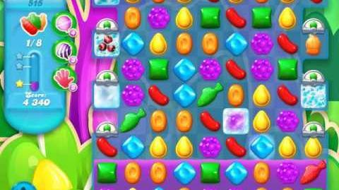Candy Crush Soda Saga Level 515 (6th version)