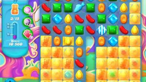 Candy Crush Soda Saga Level 77 (2nd version, 3 Stars)