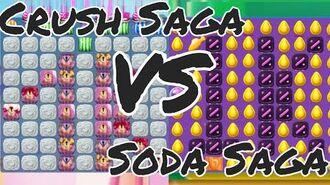 CRUSH SAGA VS SODA SAGA LEVEL 1000 ★★★