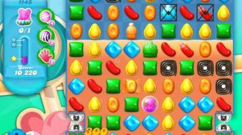Candy Crush Soda Saga Level 1145 (4th version, 3 Stars)