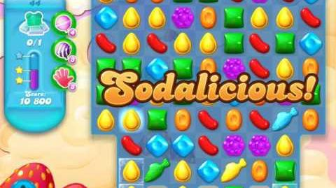 Candy Crush Soda Saga Level 44 (2nd version, 3 Stars)