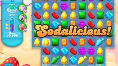 Candy Crush Soda Saga Level 44 (2nd version, 3 Stars)