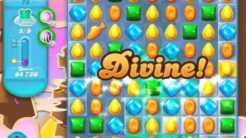 Candy Crush Soda Saga Level 73 (4th version)