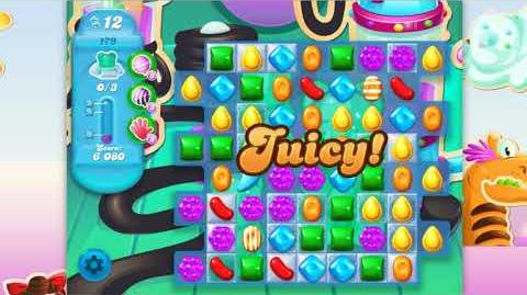 Candy Crush Soda Saga - Level 179 - No boosters
